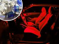 Red Interior LED Bulb Kit Set Lighting Spare Part For Nissan Navara D40 4X4