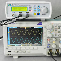 Digital DDS Dual-channel Signal Generator Source Frequency Meter 25MHz 200MSa/s