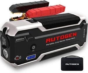 ⚡ AUTOGEN 4000A Résistant Camion Batterie Booster Paquet Sauter Starter Box