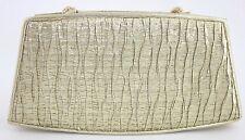 NEW!! Y & S Original Gold Metallic Handbag Purse Clutch