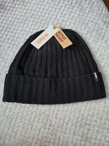 Barts Stormshield Black Beanie Beret New With Tags
