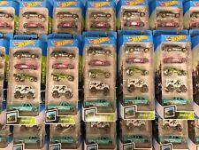 NEW HOT WHEELS Speed Blur 1pc 5 Pack '71 Datsun 510 Wagon Lot JDM Import Rare