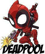 Deadpool Guy w/Gun Vinyl Sticker Decal Laptop macbook Car Truck SUV Window