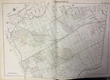 1895 STENTON PARK LOGAN OLNEY SCHOOL JEWISH HOSPITAL PHILADELPHIA PA ATLAS MAP