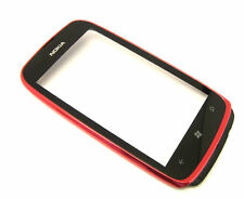 Original Nokia Lumia 610 Touchscreen Digitizer Display Glas  +Rahmen +Hörmuschel