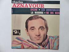 CHARLES AZNAVOUR Sylvie Les aventuriers ... 70591 M