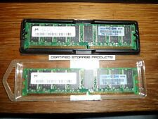 2 x HP 326668-041 Memory 512MB 400Mhz PC3200U-30331-Z DDR MT16VDDT6464AG-40BG5
