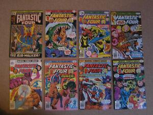 "Lot 8 Comics VO import USA""FANTASTIC FOUR"" MARVEL 1971-76"