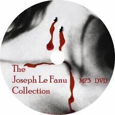Joseph Sheridan Le Fanu Audiobook Collection in English on 1 MP3 DVD Free Ship