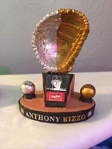 2016 Rawlings Platinum Gold Glove Award Anthony Rizzo Chicago Cubs Paper Weight