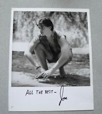 MALE MODEL JOE SIGNED 9x12 PHOTO AUTOGRAPH