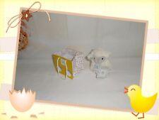 ♥ - Doudou Peluche Mouton  Blanc Gris Sac Kdo Oh Studio ! Doudou et Compagnie