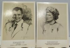 Postcards with space heroes of the Soviet Union 39pcs (Gagarin, Tereshkova etc.)