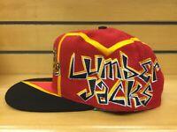 New NWT Vintage Muskegon Lumberjacks IHL Hockey Graffiti TOW Snapback Cap Hat