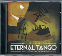ETERNAL TANGO – Welcome To The Golden City - mit original signiertem Booklett
