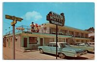 1960s Dunes Motel, Stone Harbor, NJ Postcard *5Q(2)12