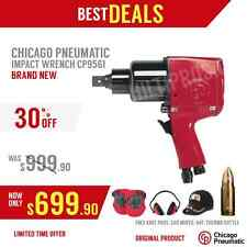 CHICAGO PNEUMATIC IMPACT WRENCH CP9561, NEW, FREE THERMO, EXTRAS, FAST SHIP
