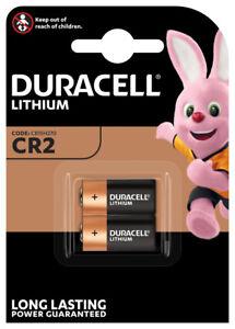 2 x Duracell CR2 CR15H270 CR17355  Lithium Power Photo Batterie 3V im Blister
