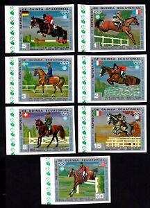 Olympic Equatorial Guinea 1972 set of stamps Mi#A126-A132 MNH CV=4€