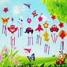 5pcs DIY Campanula Wind Chime Children Kindergarten Arts and Crafts Animal Toys