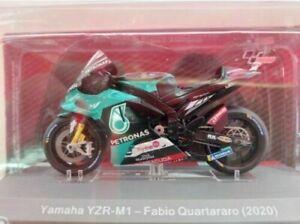 Fabio Quartararo Yamaha YZR-M1 (2019)  1/18 neuf en boite Moto GP miniature