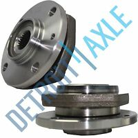 Set of (2) New Front Driver and Passenger Wheel Hub and Bearing Assembly