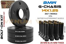 Full Set Of BMW 5x112 G Chassis 20mm & 35mm Wheel Spacer Staggered Kit 66.56