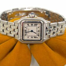 CARTIER PANTHERE STAINLESS STEEL LUXURY LADIES 22MM WATCH