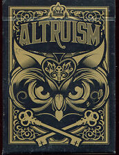 Altruism Version 1 Playing Cards-New Blue Crown Sold Out Free Ship!