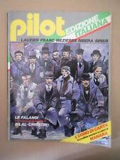 PILOT Rivista Fumetti n°1 1981 Christin Bilal - Uomo di carta Manara   [D9]