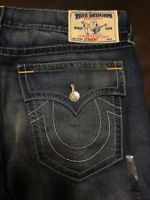 TRUE RELIGION MENS STRAIGHT JEANS SZ 38