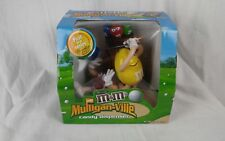 M&M's Mulligan-Ville Candy Dispenser Golf Sport Collectible Limited Edition NEW!