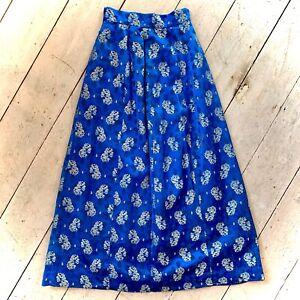 Vintage 1950's Brocade Maxi Evening Skirt Size 6