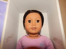 American Girl Doll Truly Me 42 Earrings Brown Hair Eyes Activity & Marisol Books