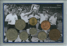 Tottenham Hotspur Spurs Vintage F.A Cup Final Winners Retro Coin Gift Set 1962
