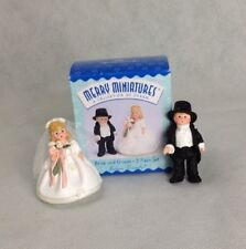 Merry Miniature 2 Piece Set Bride & Groom Madame Alexander Hallmark