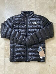The North Face Mens 800 Down Sierra Peak Jacket Size Small Slim Fit Black - NEW