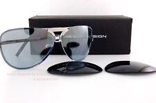 New Porsche Design Sunglasses P8678 8678 D Palladium Interchangeable Lenses