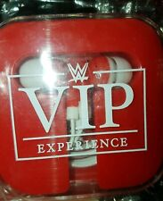 WWE OFFICIAL VIP EXPERIENCE rare headphone set in case