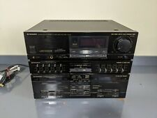 Pioneer DC-Z81 - Stereo Hifi Amplifier, Double Casette Tape Deck & Equalizer