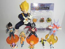 Dragonball Z Figure set Japanese Anime Goku Vegeta Gotenks Pins(New) Key Ring