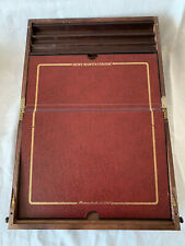 """VINTAGE LIMITED EDITION REMY MARTIN """"MAITRE DE CHAI"""" WOODEN WRITING SLOPE"""