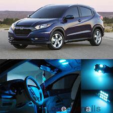 Deluxe Ice blue SMD Car bulb Light Interior LED Package Kit For Honda HR-V 2016
