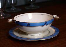 HAAS & CZJZEK H&S CORONADO Cream Soup Bowl & Plate Bohemia Eleonora