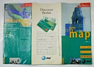 TMG Berlin city map 1:20,000 1994