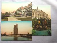 Mohonk Lake, NY Postcards Colorized Vintage Unsent 1900s (3) Cards