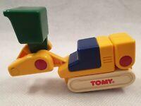 Vintage Tomy Toy Digger Excavator 1988 Vintage Tomy Toy 1980s