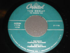 TOM DOOLEY The Kingston Trio 45 EP Coplas Banua Santy Anno 1136 Capitol