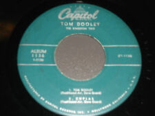 TOM DOOLEY The Kingston Trio 45 EP Coplas Banua Santy Anno 1136 Capitol