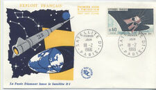 FRANCE FDC - 1476 1 SATELLITE D1 - 18 Février 1966 - LUXE